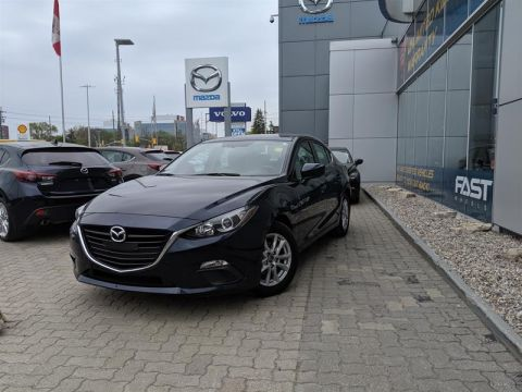 Certified Pre-Owned 2016 Mazda3 GS at