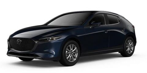 New 2019 Mazda3 Sport GS at