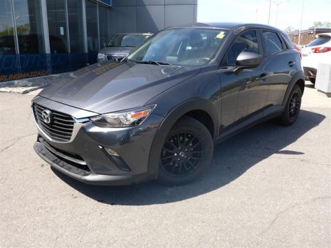 Certified Pre-Owned 2017 Mazda CX-3 GX AWD at
